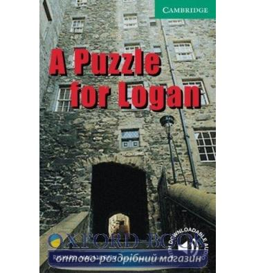 Cambridge English Readers 3 A Puzzle for Logan + Downloadable Audio