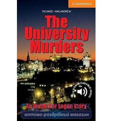 Cambridge English Readers 4 The University Murders + Downloadable Audio