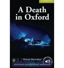 Cambridge English Readers Starter A Death in Oxford + Downloadable Audio