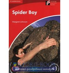 Книжка Cambridge Readers Spider Boy: Book with Downloadable Audio Johnson, M ISBN 9781107690615