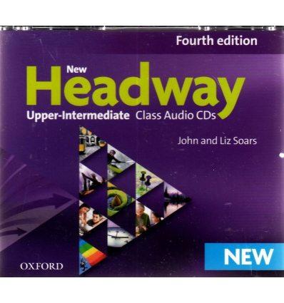 New Headway Upper-Intermediate: Class Audio CDs (4)