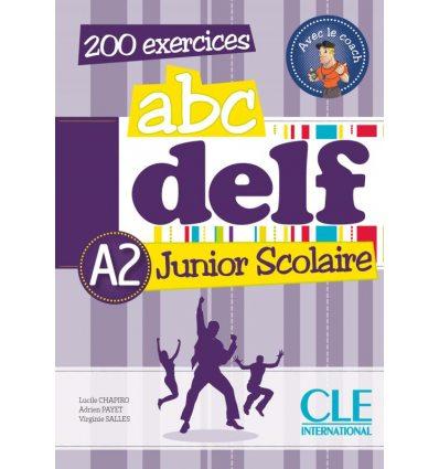 ABC DELF Junior Scolaire A2 + Corriges + DVD-ROM