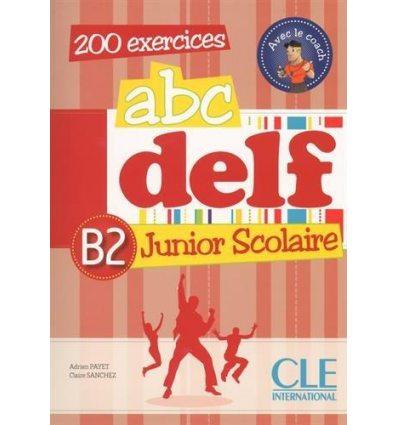 ABC DELF Junior Scolaire B2 + Corriges + DVD-ROM