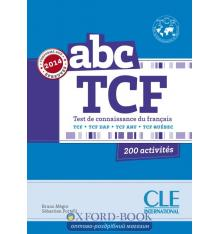 ABC TCF + Corriges + CD audio