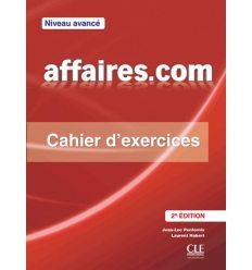 Книжка Affaires.com 2e edition Avance Cahier ISBN 9782090380422
