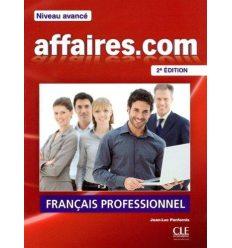 Книжка Affaires.com 2e edition Avance Livre ISBN 9782090380415
