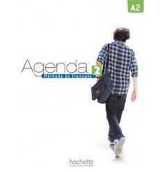 Книга Agenda 2 Livre + DVD-ROM ISBN 9782011558046