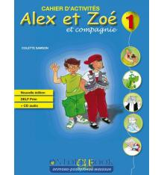 Alex et Zoe Nouvelle 1 Cahier dactivites + CD audio DELF Prim Samson, C ISBN 9782090383317