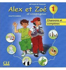 Alex et Zoe Nouvelle edition 1 CD audio individuel ISBN 9782090322460