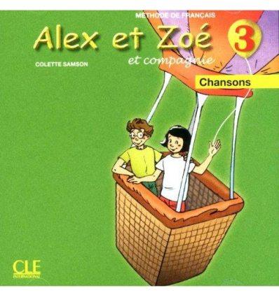 Alex et Zoe Nouvelle edition 3 CD audio individuel