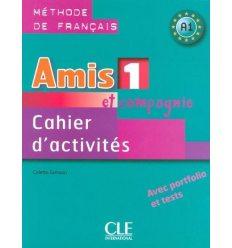 Книга Amis et compagnie 1 Cahier d`activities Samson, C ISBN 9782090354911