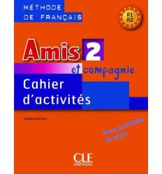 Книга Amis et compagnie 2 Cahier d`activities Samson, C ISBN 9782090354942