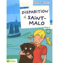 Atelier de lecture A1 Disparition a Saint Malo + CD audio ISBN 9782278060955