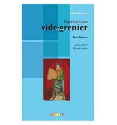 Atelier de lecture A1/A2 Operation vide-grenier + CD audio ISBN 9782278069583