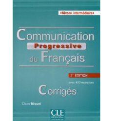 Communication Progressive du Francais 2e edition Intermediaire Corriges