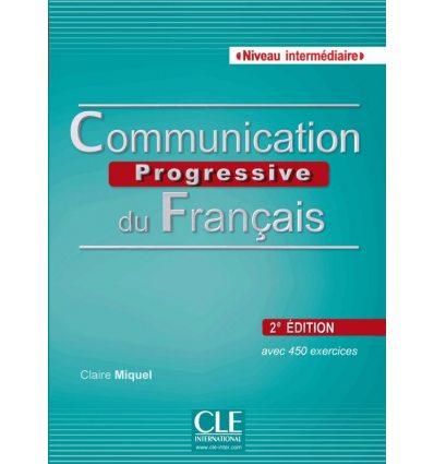 Communication Progressive du Francais 2e edition Intermediaire Livre + CD audio