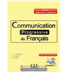 Communication Progressive du Francais Debutant Complet Livre + CD audio + Livre-web