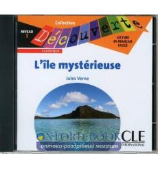 Decouverte 1 L'ile mysterieuse CD audio