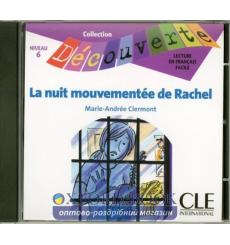 Decouverte 6 La nuit mouvementee de Rachel CD audio