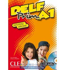 DELF Prim A1 Livre + CD audio + Corriges (CLE)