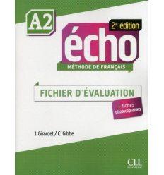 Echo 2e Edition A2 Fichier d'Evaluation