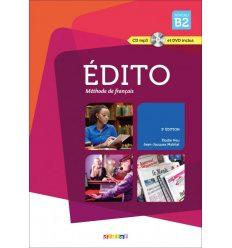 Edito 3e Edition B2 Livre + CD audio + DVD