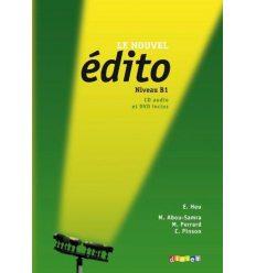 Edito B1 Nouvel Edition Livre + CD audio + DVD