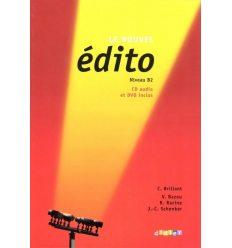 Edito B2 Nouvel Edition Livre + CD audio + DVD
