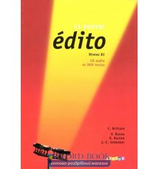 Edito B2 Nouvel Edition Livre + CD audio + DVD