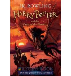 Книга Harry Potter 5 Order of the Phoenix Rejacket [Paperback] Rowling, J ISBN 9781408855690 купить Киев Украина