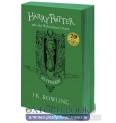 Книга Harry Potter 1 Philosophers Stone - Slytherin Edition [Paperback] Rowling, J ISBN 9781408883754 купить Киев Украина