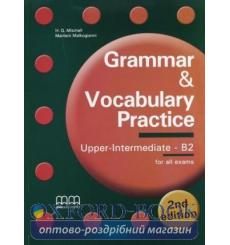 Учебник Grammar & Vocabulary Practice Upper-Intermediate/b2 Students Book Mitchell, H 3rd Edition 9789605091972 купить Киев У...