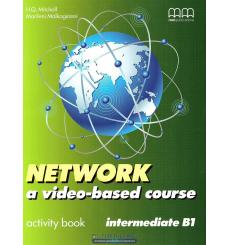 Тетрадь Network a video- based course Intermediate activity book Mitchell H 9789604784288 купить Киев Украина