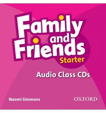 Family & Friends Starter Class CDs ISBN 9780194811989
