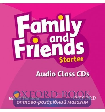 Family and Friends Starter: Class Audio CDs (2)