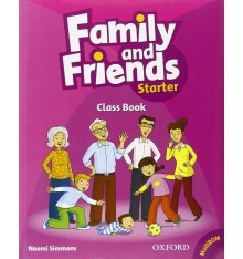 Учебник Family & Friends Starter Class book + MultiROM