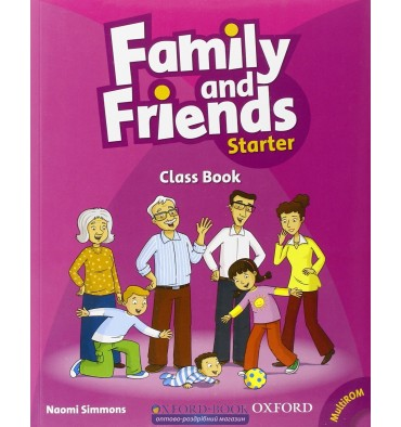 Family and Friends Starter: Class Book with MultiROM