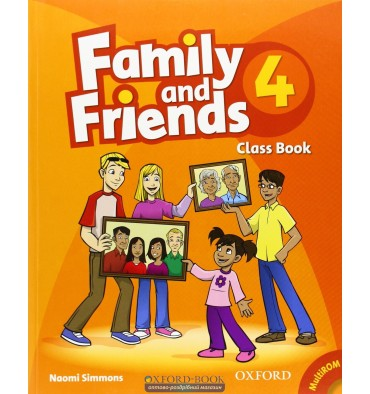 Family and Friends 4: Class Book with MultiROM