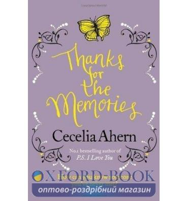 Cecelia Ahern,  THANKS FOR THE MEMORIES