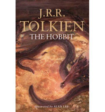 J. R. R. Tolkien, THE HOBBIT - Illustrated B format