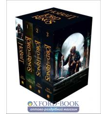 Книга J. R. R. Tolkien, THE HOBBIT/THE LORD OF THE RINGS: A format boxed set [Film tie-in covers] ISBN 9780007525515