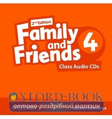 Family and Friends 2nd Edition 4: Class Audio CDs (3)