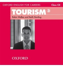 Диск Oxford English for Careers: Tourism 3: Class Audio CD ISBN 9780194551083