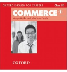 Диск Oxford English for Careers: Commeerce 1 Class Audio CD ISBN 9780194569828
