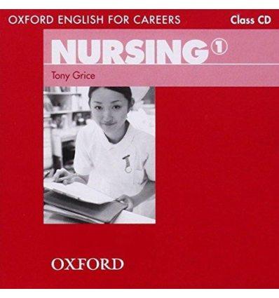 Диск Oxford English for Careers: Nursing 1 Class Audio CD 9780194569811 купить Киев Украина