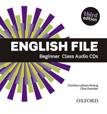 Диск English File 3rd Edition Beginner Class Audio CDs (4) ISBN 9780194501965