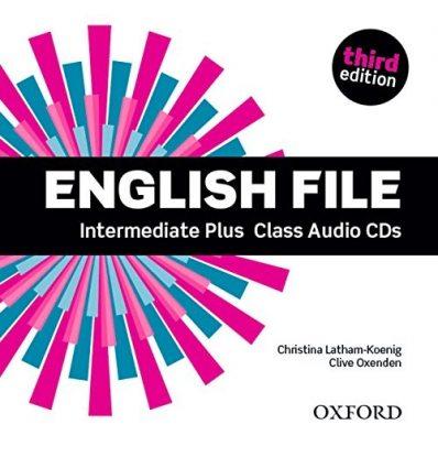 Диски для класса English File 3rd Edition Intermediate Plus Class Audio CDs (5) ISBN 9780194558181