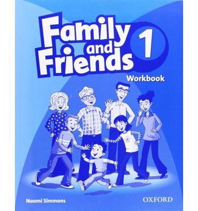 Рабочая тетрадь Family & Friends 1 Workbook