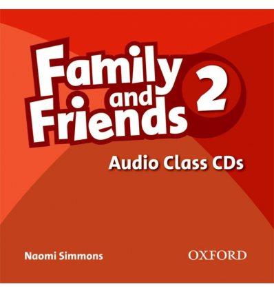Family & Friends 2 Class CDs ISBN 9780194812177