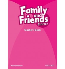 Книга для учителя Family & Friends Starter Teachers book